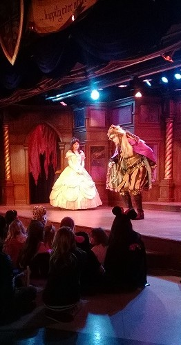 Belle in The Royal Theatre. Photo by M.C.