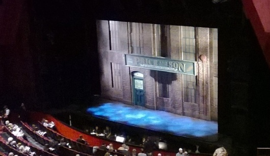 Kinky Boots stage for Price and Sons shoe factory. Photo by M.C.