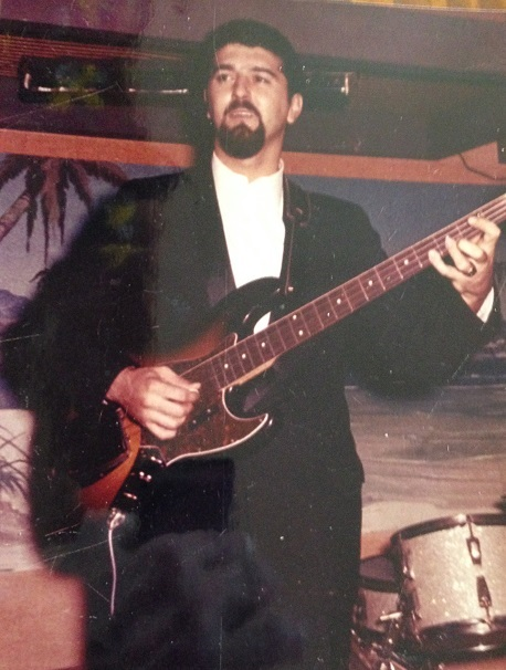 """The band leader handed Mark Massagli an electric bass and told him, """"Just play it like a stand-up, only sideways."""""""
