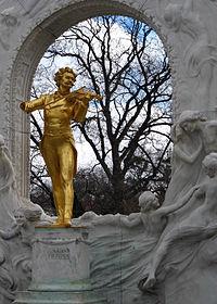 Strauss Memorial, Edmund Hellmer, Bronze/Marble, 1921-23, Germa