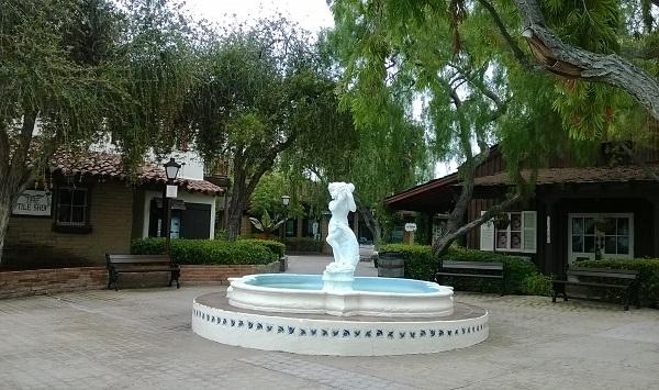 Seaport Village Fountain